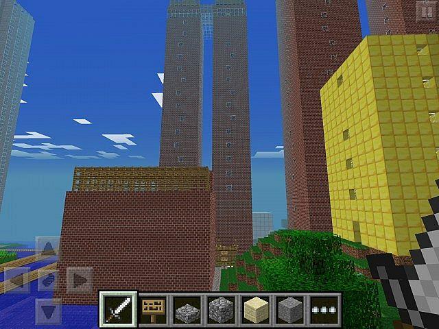 Minecraft pe City Minecraft