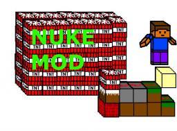 Nuke Minecraft Mod