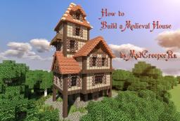 How to build a beautiful medieval house Minecraft Blog Post