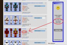 Stupid ads Minecraft Blog