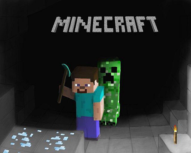 Have fun in minecraft with a firework spawner!