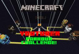 Youtuber Parkour Challenge Adventure Map! Minecraft Project