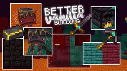 MC 1.15/1.16: BetterVanillaBuilding V2.31 (optifine recommended!) Minecraft Texture Pack