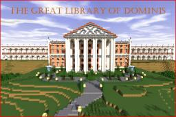 The Great Library of Dominis Minecraft