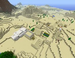 Village survival Minecraft Project