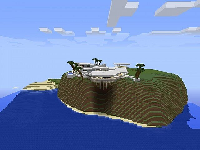 Tony Stark House Malibu Minecraft Map