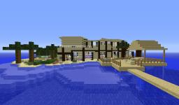 Beach Side Paradise Minecraft Map & Project