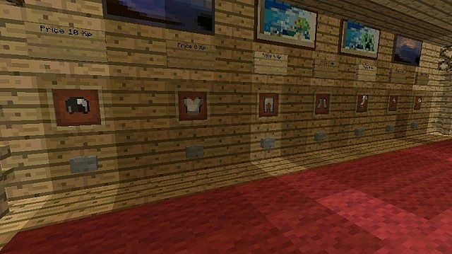 how to make a shop in minecraft with command blocks