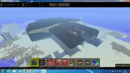 Central-Galactic Empire 'Retaliation' class mothership Minecraft Project