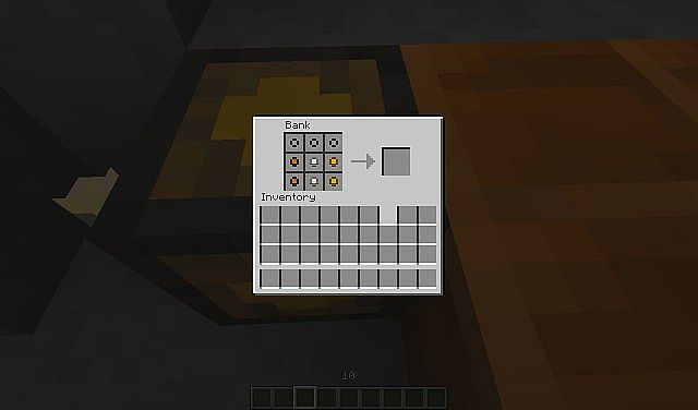 The GUI for the Bank Block.