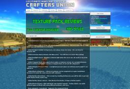 Crafters Union  [Live] Minecraft
