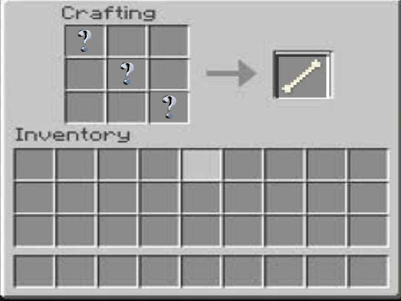 Bone Crafting Minecraft