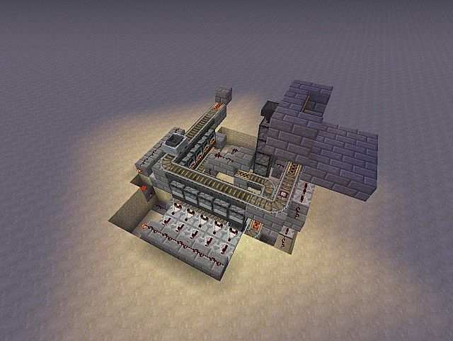 Auto furnace minecraft 1 5 1 5 1 minecraft project for How to craft a furnace in minecraft