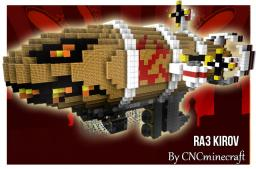 The Kirov Airship Minecraft Map & Project