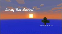 Lonely Tree Survival Minecraft Map & Project
