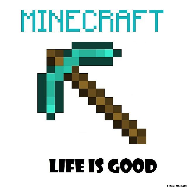 Custom Minecraft Wallpaper Life Is Good Minecraft Blog
