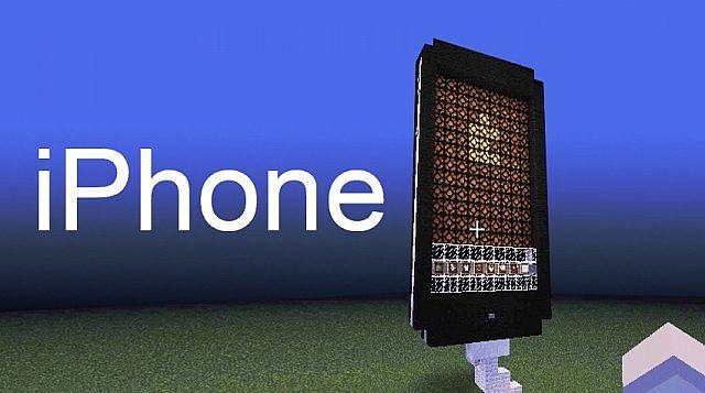 [Map][13w37a] iPhone 5 - модель айфона 5 в майнкрафт ...