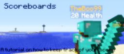 How to make scoreboards - A Minecraft Tutorial!