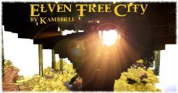 Elven Tree City (Legit Survival Build) Minecraft Project