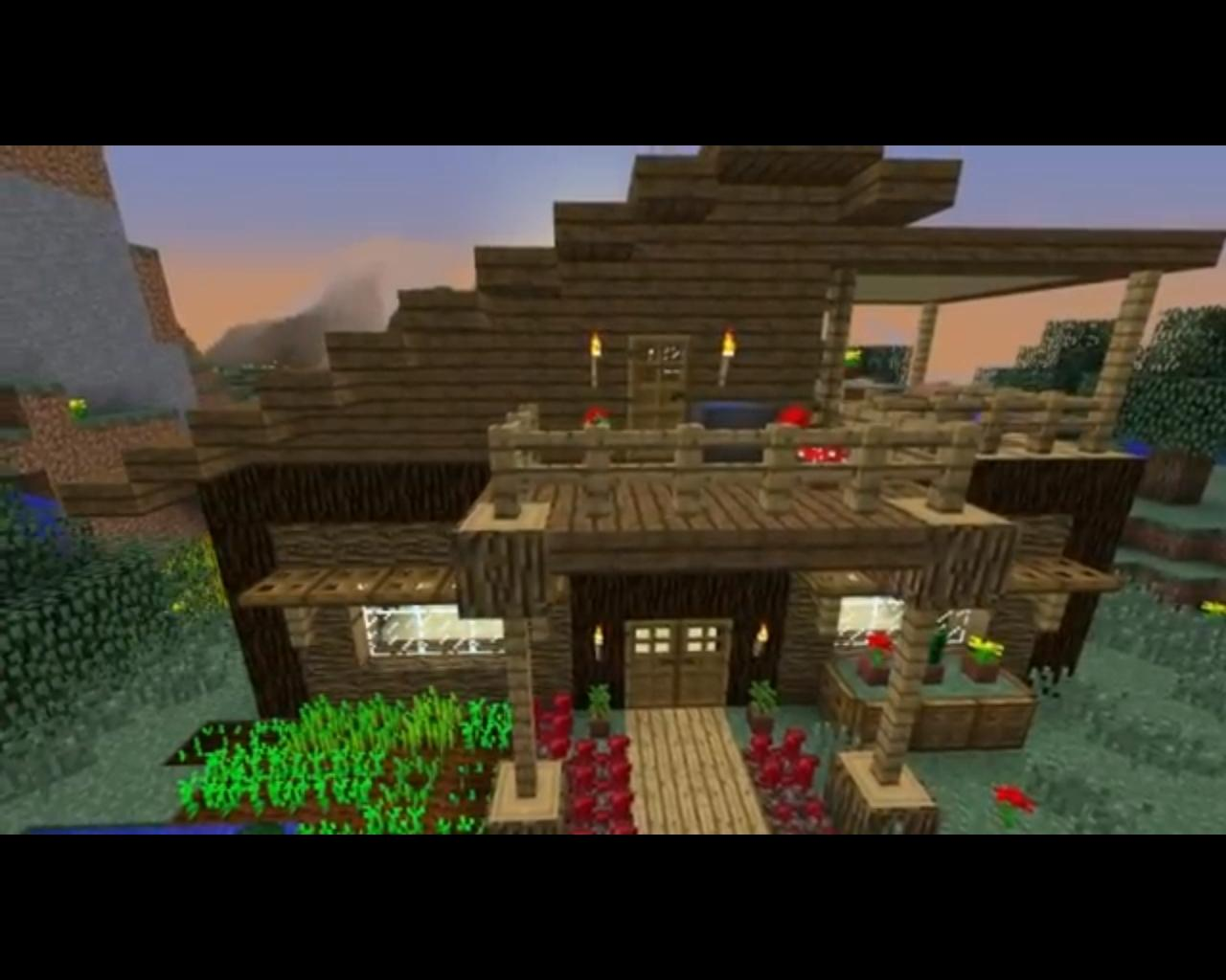 Minecraft Modern Wood Houses WeSharePics
