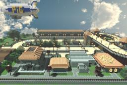 Pigrace arena (played by SkyDoesMinecraft) Minecraft