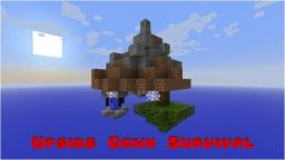 Upside Down Survival Minecraft Map & Project