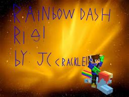 (Mine Imator) Rainbow Dash rig!