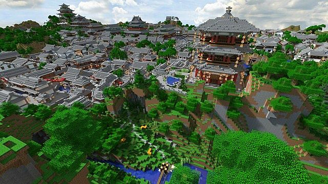 Captivating Planet Minecraft
