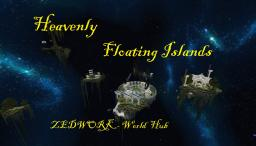 Heavenly Floating Islands Minecraft