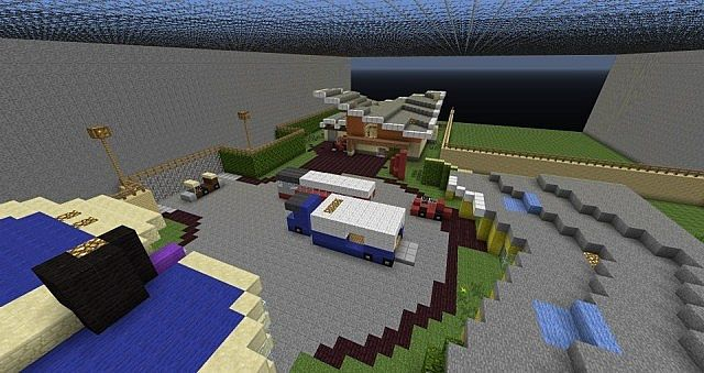 Warfare arena