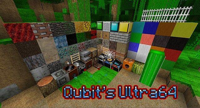 Qubits Ultra64 HD Texture Pack!