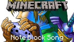 Minecraft Note Block Song: Legend of Zelda: Song of Storms Minecraft