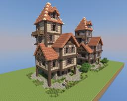 Medieval House Minecraft Project