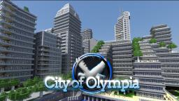 City of Olympia - modern city (metros, stadiums, skyscrapers) Minecraft Project