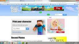 Papercraft Minecraft Blog