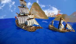Ships Bundle 3x Minecraft