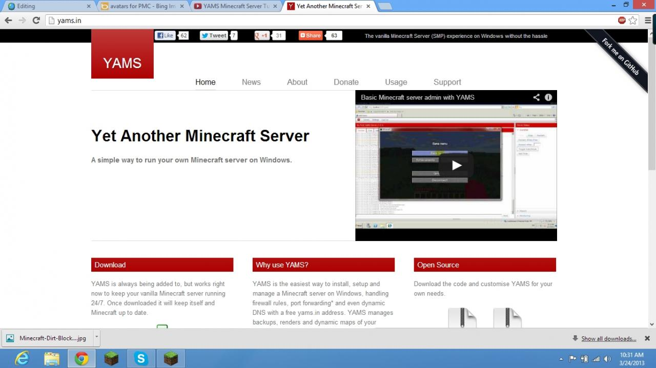 how to create a minecraft server for free