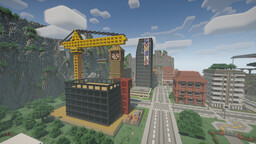 Minecraft - Lockdown City ( 60% complete ) Minecraft Map & Project