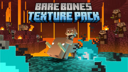 Bare Bones Texture Pack 1.16 Minecraft Texture Pack