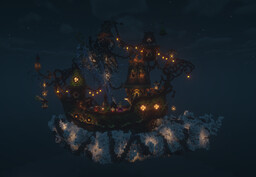 Fantasy Spooky Ship Minecraft Map & Project