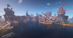 [1.15.2] The Golden Reach V1 Minecraft Map & Project
