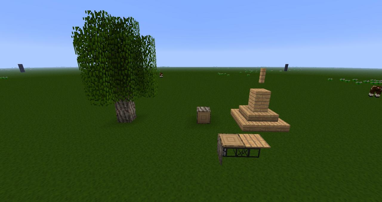 Forestry Tree Breeding Guide map Minecraft Project