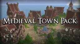 Medieval Town Map Pack [Free to anyone that wants to use] Minecraft