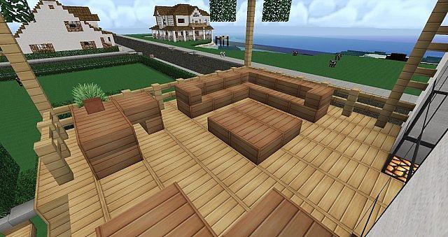 Bi Level House Furnished Minecraft Project