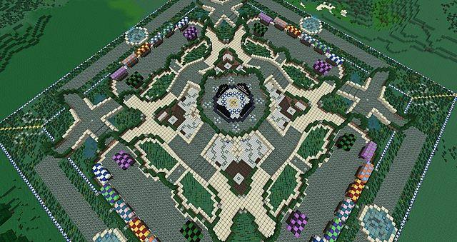 Готовая карта Spawn для Minecraft #2 [скачать] - YouTube