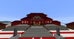Shuri Castle complex Minecraft Project
