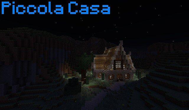 Piccola casa tavern small house tavern minecraft project for Piccola casa efficiente