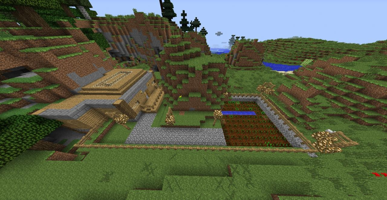 Minecraft Starter House Minecraft Project