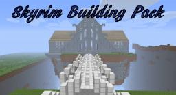 Skyrim Building Pack! RiverWood, Hall Of Valor, Bleak Falls Barrow and Half Of Dawnstar Minecraft Map & Project