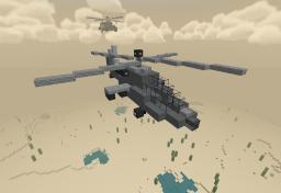 AH-64 Apache Longbow Minecraft Map & Project